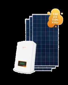 GERADOR DE ENERGIA SOLIS 7,04kWp
