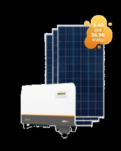 GERADOR DE ENERGIA SOLIS 36,96kWp