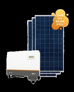GERADOR DE ENERGIA SOLIS 44,88kWp