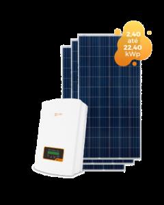 GERADOR DE ENERGIA SOLIS 21,12kWp