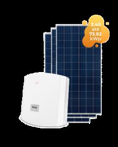 GERADOR DE ENERGIA SOLIS 73,92kWp
