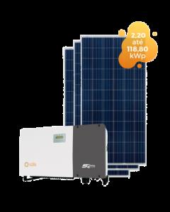 GERADOR DE ENERGIA SOLIS 118,80kWp