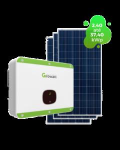 GERADOR DE ENERGIA GROWATT 37,40kWp