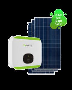 GERADOR DE ENERGIA GROWATT 15,84kWp