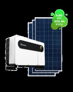 GERADOR DE ENERGIA GROWATT 200,64kWp