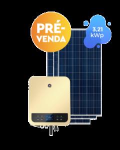 GERADOR DE ENERGIA GE 3,21kWp (10 ANOS DE GARANTIA)