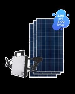 GERADOR DE ENERGIA HOYMILES MI-1200 8,00kWp