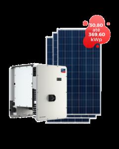 GERADOR DE ENERGIA SMA 369,60kWp