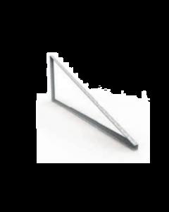 KIT FIXAÇÃO (TRIÂNGULO SSM) P/ LAJE (1 LINHA DE PAINÉIS NA VERTICAL) C/ PERFIL 4,60m