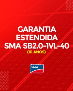 Garantia Estendida SMA SB2.0-1-VL-40 10 anos