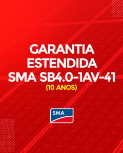 Garantia Estendida SMA SB 4.0- 1AV-41 10 anos