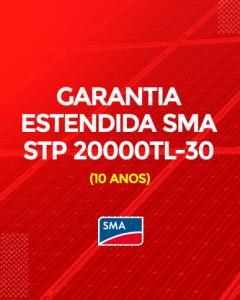 Garantia Estendida SMA STP 20000TL-30 10 anos