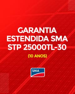 Garantia Estendida SMA STP 25000TL-30 10 anos